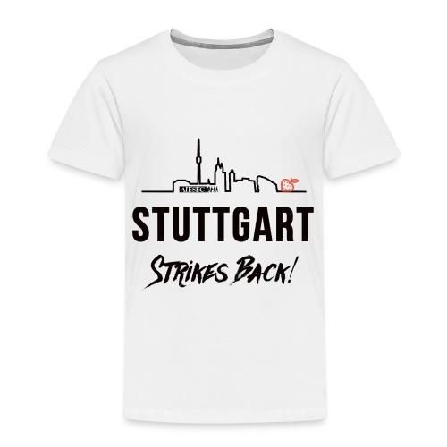 Stuttgart Strikes Back Skyline - Kinder Premium T-Shirt