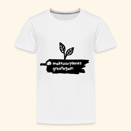 makrourplanetgreatagain 02 - Kinder Premium T-Shirt