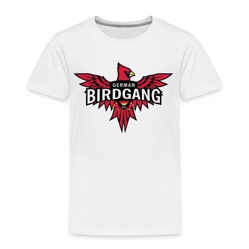 German Birdgang Logo White - Kinder Premium T-Shirt