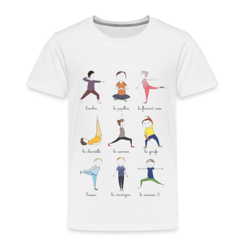 Little yogis - T-shirt Premium Enfant