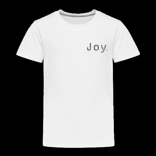 Joy Logo - Kinder Premium T-Shirt