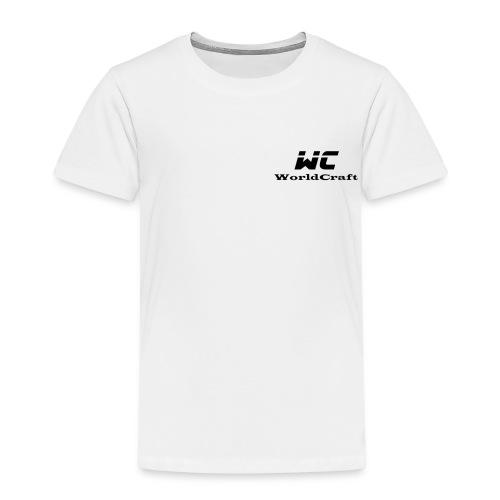 WorldCraftNoir - T-shirt Premium Enfant