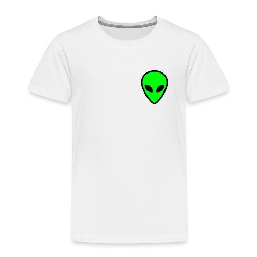 alien face 5 - Maglietta Premium per bambini