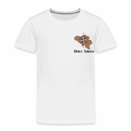 eerste tshirt urbexlokeren - Kinderen Premium T-shirt