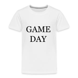 Game Day Collection - Premium T-skjorte for barn