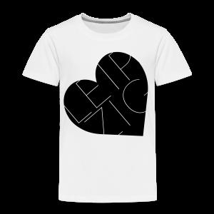Leipzig Herz Liebe - Kinder Premium T-Shirt