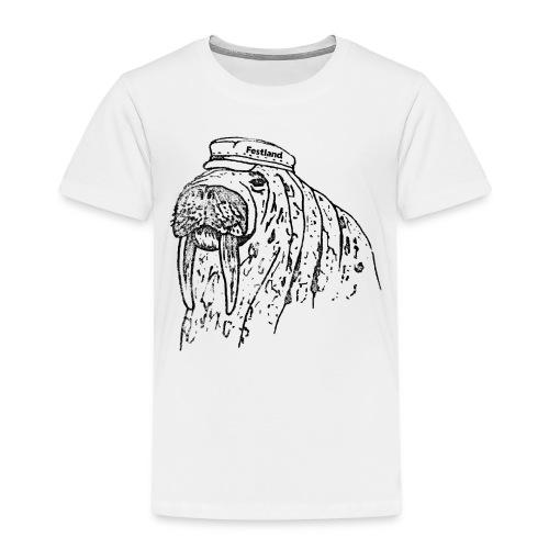 festland walrus - Kinder Premium T-Shirt