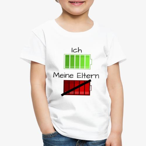 Ich und meine Eltern Batterie - Kinder Premium T-Shirt