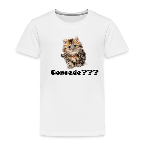 Concede kitty - Premium T-skjorte for barn