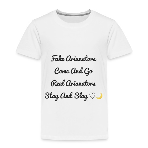 arianators stay and slay - Kids' Premium T-Shirt