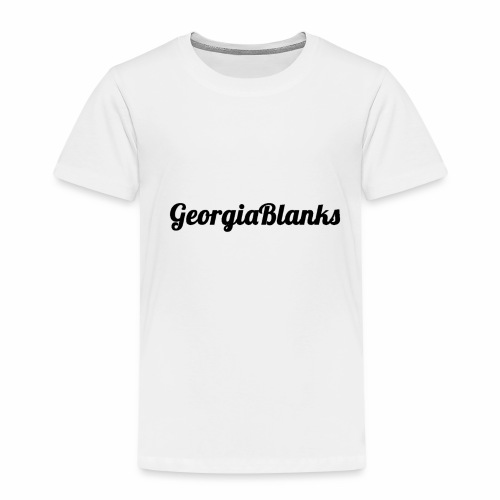 GeorgiaBlanks - Kids' Premium T-Shirt