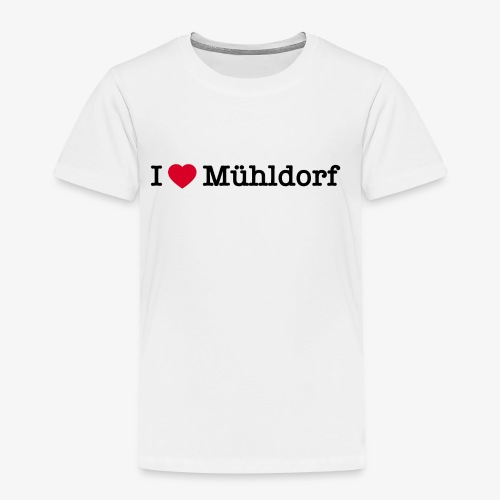 I love Mühldorf - Kinder Premium T-Shirt