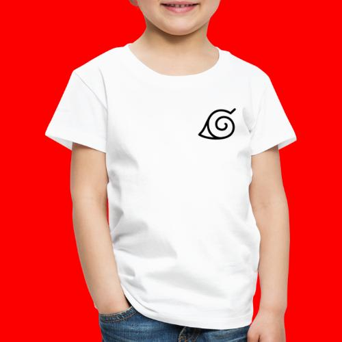 Simbolo konoha svg - Camiseta premium niño