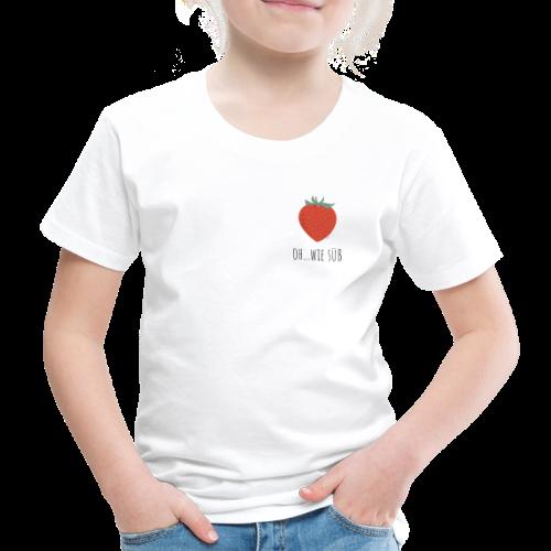 StrawBerry - Kinder Premium T-Shirt