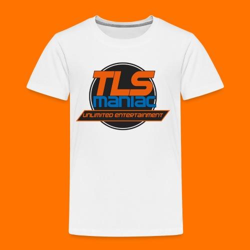 TLS Maniac Logo With Transparent Outline - Kids' Premium T-Shirt