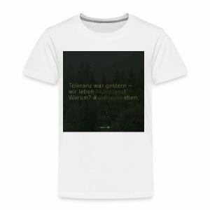 #weilbaum-T-Shirt Akzeptanz - Kinder Premium T-Shirt