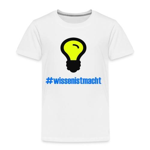 Wissen ist Macht - Kinder Premium T-Shirt