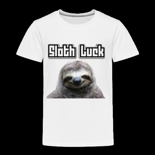 Sloth Luck - Kids' Premium T-Shirt