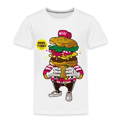 I Love Burger - Kinder Premium T-Shirt