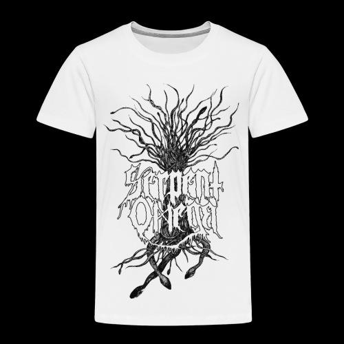Serpent Omega- Ormträd - Premium-T-shirt barn