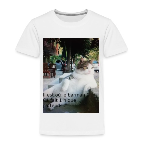 chat de contracte - T-shirt Premium Enfant