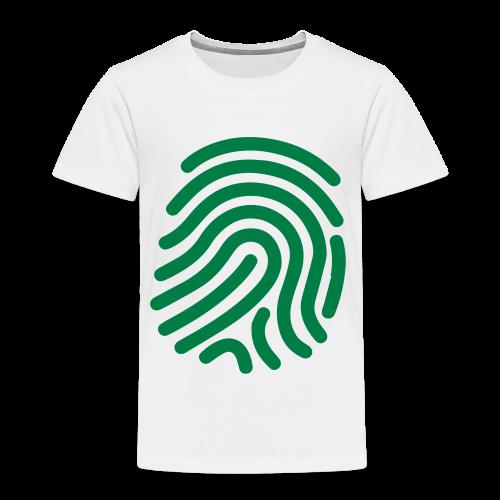 FINGERPRINT - Kinderen Premium T-shirt
