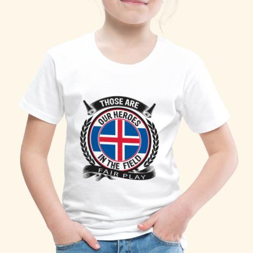 Island 🇮🇸 - Kinder Premium T-Shirt