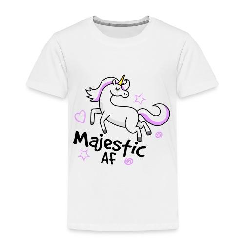 Majestic AF Unicorn - Kids' Premium T-Shirt