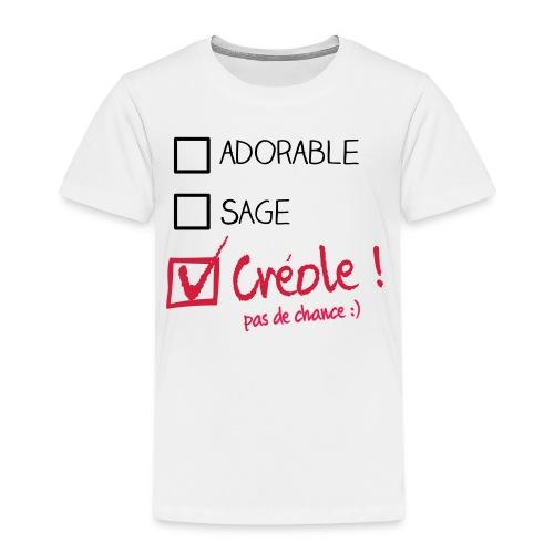 kreol mieux que parfait enfant - T-shirt Premium Enfant