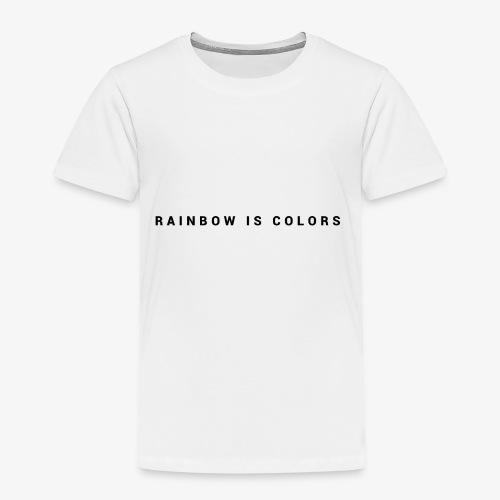 rainbow colors - T-shirt Premium Enfant