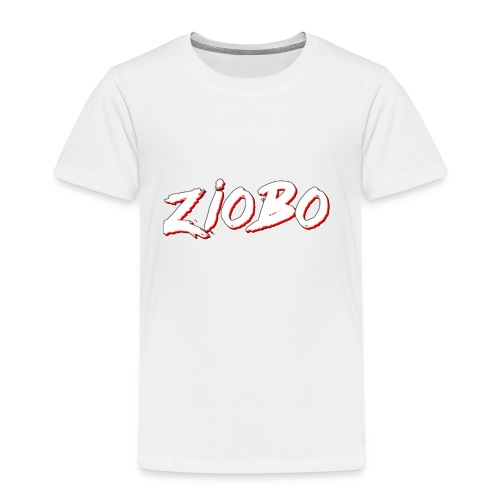 white ziobo - Kids' Premium T-Shirt
