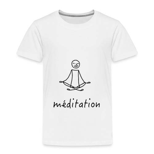 Méditation - T-shirt Premium Enfant