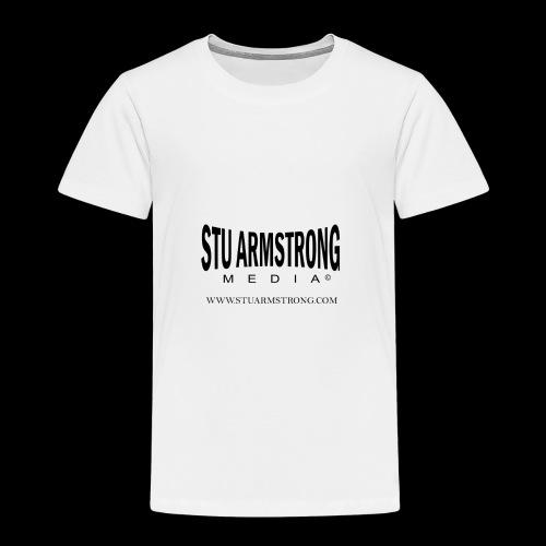 Stu Armstrong Media Black Logo - Kids' Premium T-Shirt