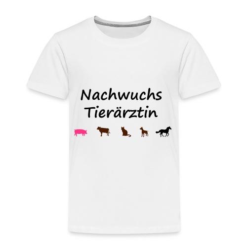 Nachwuchs Tieraerztin / Tierarzt-Kind - Kinder Premium T-Shirt