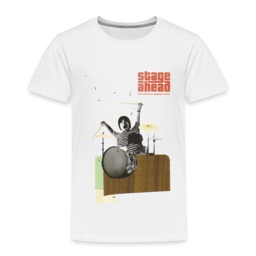 The Drummer - Kinder Premium T-Shirt