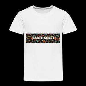 funny logo - Kinderen Premium T-shirt
