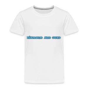 Diamond And Gold - Premium-T-shirt barn