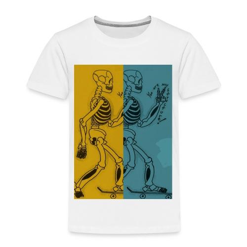 Esqueleto skater: You are my structure! - Camiseta premium niño
