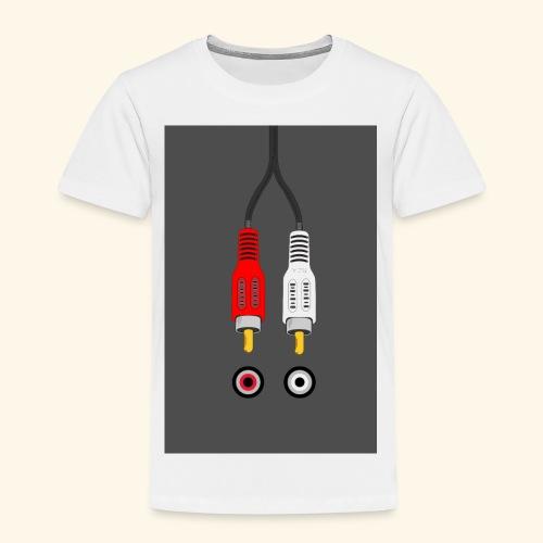 rca cable1 - Maglietta Premium per bambini