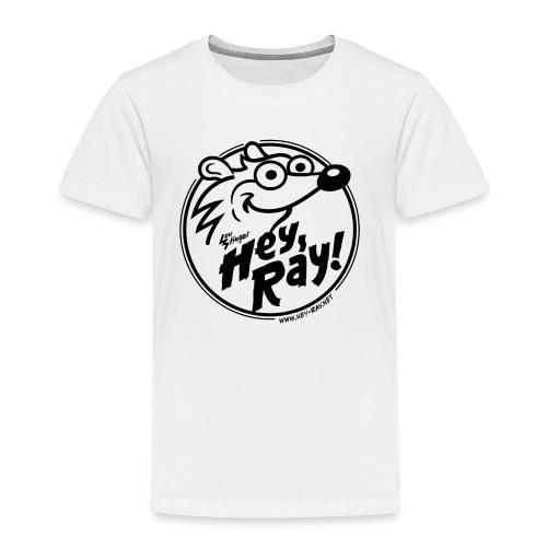 Hey Ray Logo black - Kinder Premium T-Shirt