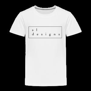 sldesigns Collection - Premium T-skjorte for barn
