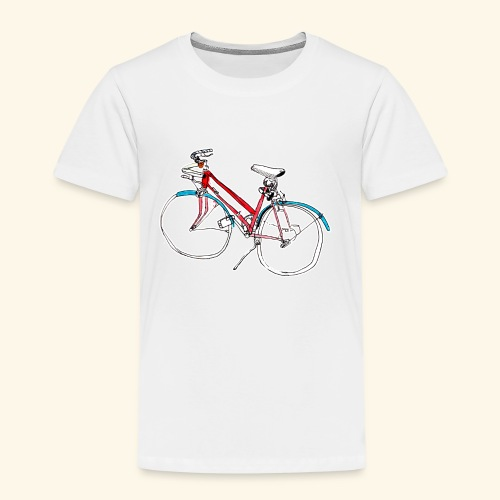 Bicycle Lovers - Kinder Premium T-Shirt