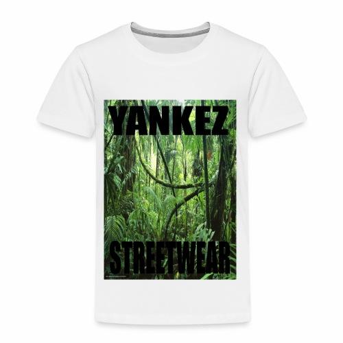 Yankez Backprint Jungle - Kinder Premium T-Shirt