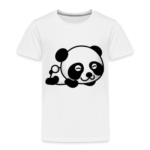 Liegender Panda - Kinder Premium T-Shirt