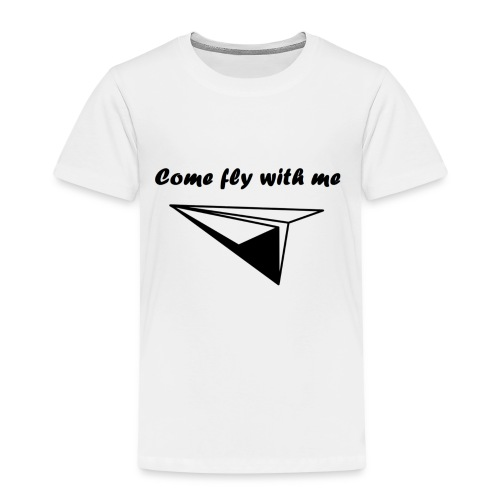 Come fly with me - Kinderen Premium T-shirt
