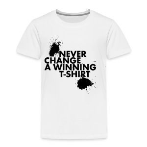 Never change a winning T-shirt - Kinderen Premium T-shirt