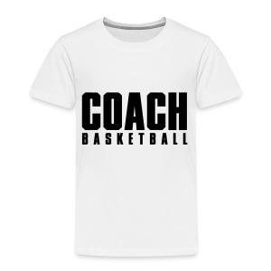 Coach Basketball Trainer - Kinder Premium T-Shirt