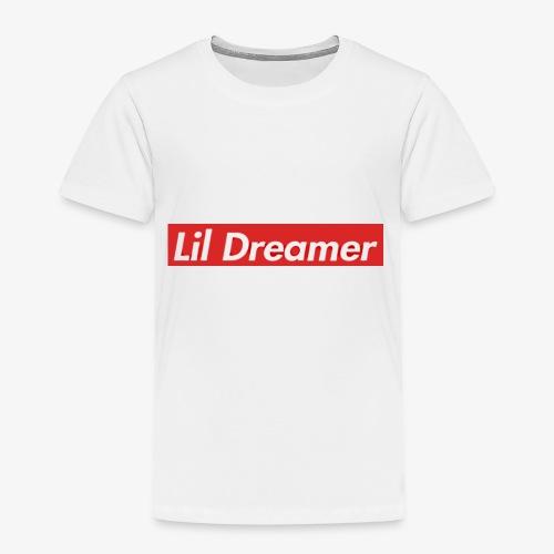 Lil Dreamer - Red Box Design - Kids' Premium T-Shirt