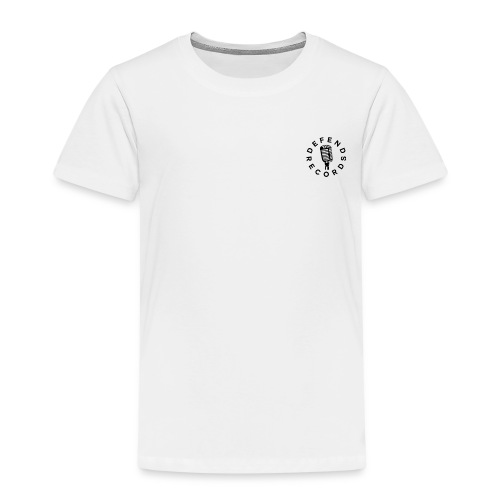 Defend Sort - Børne premium T-shirt