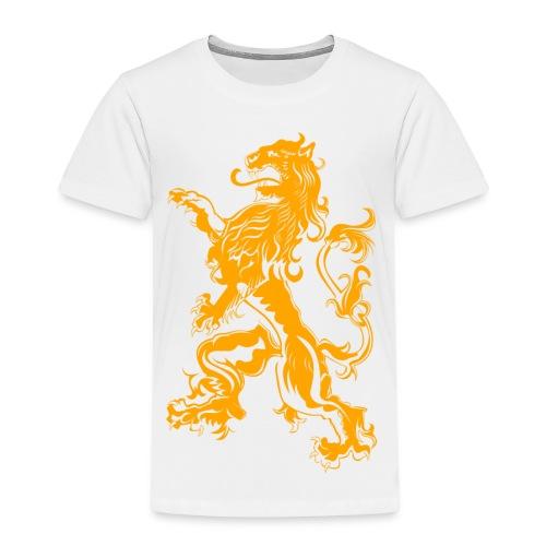 NL Leeuw Oranje Koningsdag - Kinderen Premium T-shirt